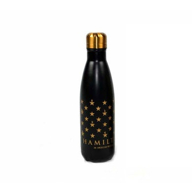 Hamilton Star Grid Water Bottle Matte Black