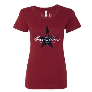 HAMILTON Exhibition Red Logo Tee