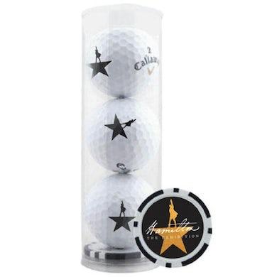 Hamilton Exhibition Golf Ball Set