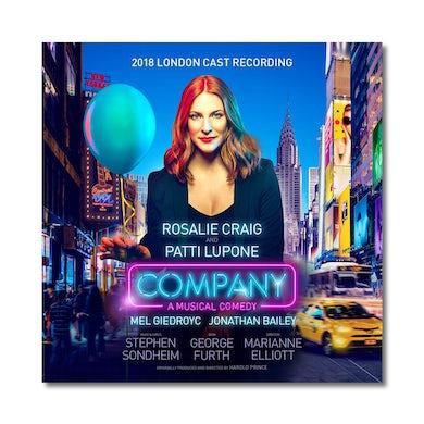 COMPANY 2018 London Cast Album CD