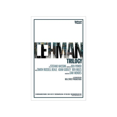 THE LEHMAN TRILOGY Windowcard