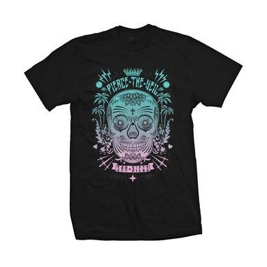Pierce The Veil Sugar Skull Tee