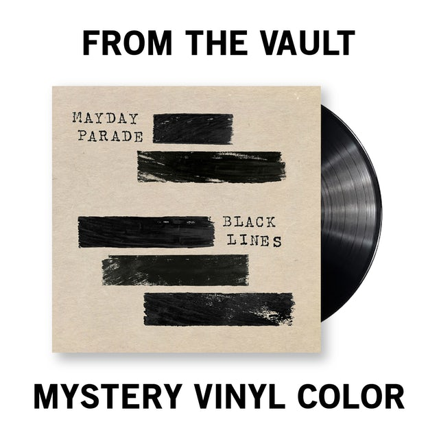 Mayday Parade Black Lines Vinyl