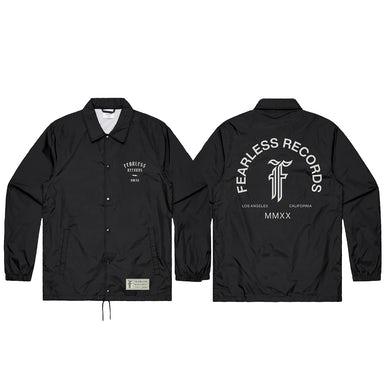 Fearless Records Fearless 2020 Pop Up Coaches Jacket