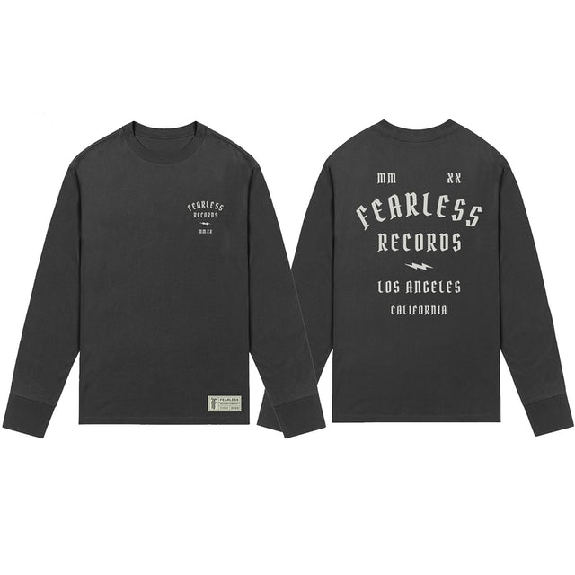 Fearless Records Fearless 2020 Pop Up Black Long Sleeve