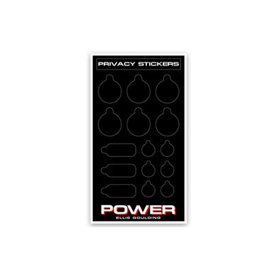 Ellie Goulding Power Privacy Stickers