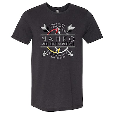 NAHKO & MEDICINE FOR THE PEOPLE Coat Of Arms T-Shirt - SM only