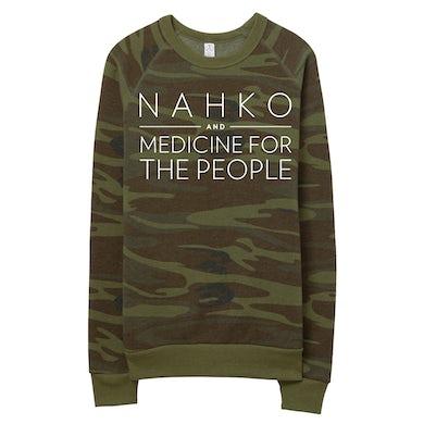 NAHKO & MEDICINE FOR THE PEOPLE Camo Sweatshirt