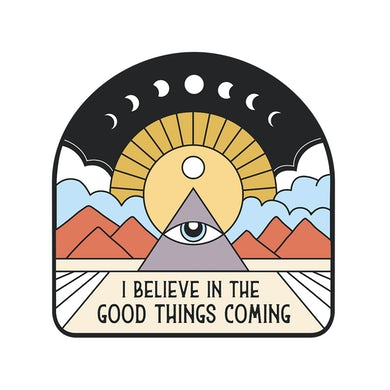 NAHKO & MEDICINE FOR THE PEOPLE All Seeing Eye Sticker