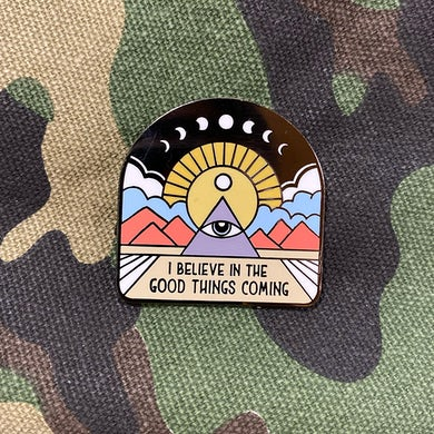 NAHKO & MEDICINE FOR THE PEOPLE All Seeing Eye Pin