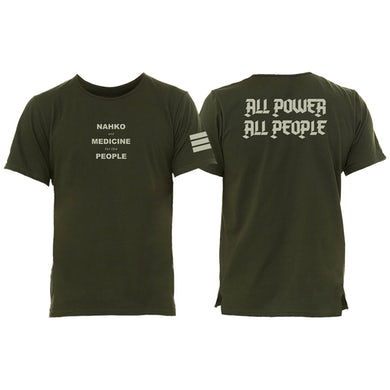 NAHKO & MEDICINE FOR THE PEOPLE All Power All People T-Shirt