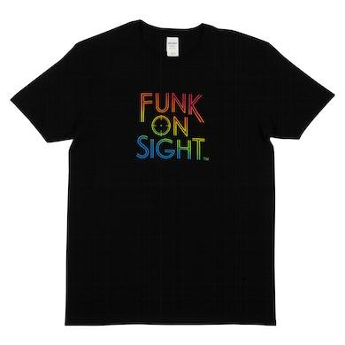 Tuxedo - Funk On Sight Rainbow Logo Tee