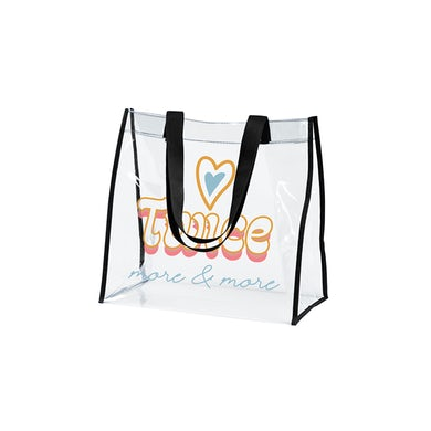 Twice MORE & MORE CLEAR TOTE