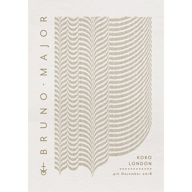 Bruno Major KOKO London Poster