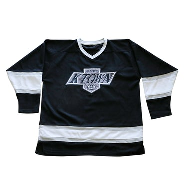Dumbfoundead Koreatown Pro Fit Hockey Jersey - Black