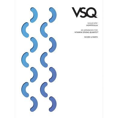 "Vitamin String Quartet Sigur Ros' ""Hoppipolla"" as Arranged for VSQ (Sheet Music)"