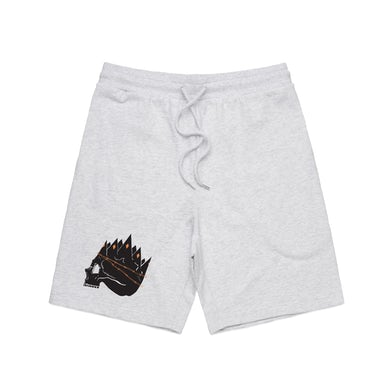 """Destroy Rebuild Until God Shows """"Skull Logo"""" Sweat Shorts"""