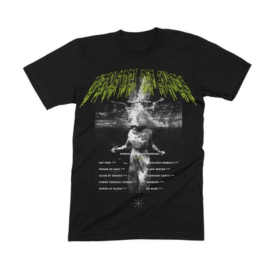 """Great American Ghost - """"Prison Of Hate"""" Shirt"""