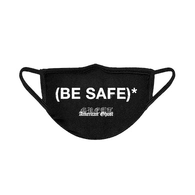 """Great American Ghost """"Be Safe"""" Face Mask"""