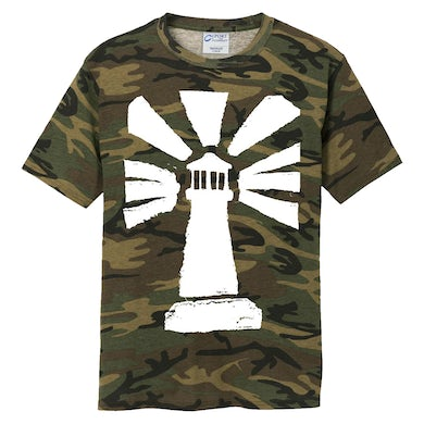 "Stray From The Path ""Lighthouse"" Logo Camo Tee"