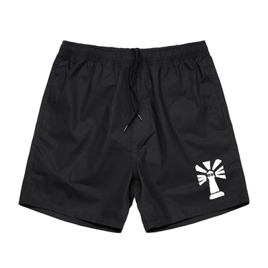 "Stray From The Path ""Lighthouse"" Logo Beach Shorts"