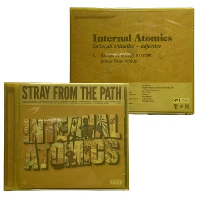 "Stray From The Path ""Internal Atomics"" CD *Limited to 500*"