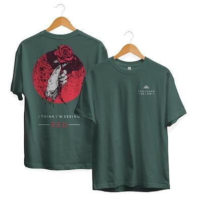 """Thousand Below """"Seeing Red"""" Shirt"""
