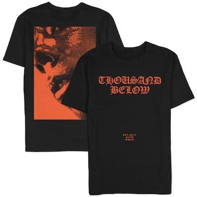 "Thousand Below ""Orange Goth"" Shirt (Pre-Order)"