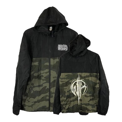 "Within The Ruins - ""Camo Windbreaker"""