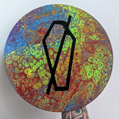 """Cemetery Sun - """"Hand Painted Vinyl"""" 09 *One Of A Kind*"""
