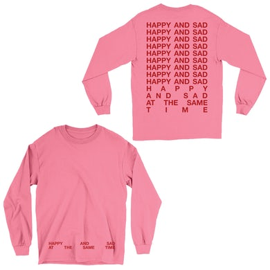 Kacey Musgraves HAPPY & SAD LONG SLEEVE TEE