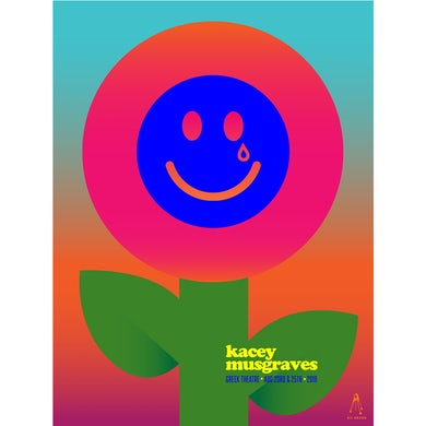 Kacey Musgraves 2019 GREEK THEATRE POSTER