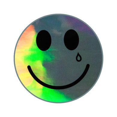 Kacey Musgraves HAPPY & SAD HOLOGRAPHIC STICKER