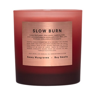 Kacey Musgraves KM + BOY SMELLS EXCLUSIVE SLOW BURN CANDLE