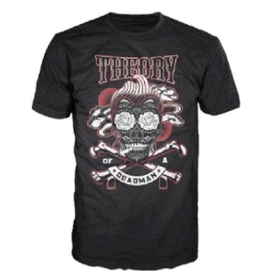 Theory of a Deadman Smoking Skull T-Shirt