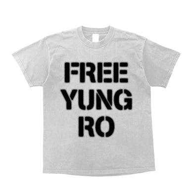 Yung Ro FREEYUNGRO White Tee