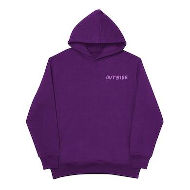 Bino Rideaux Outside Purple Hoodie