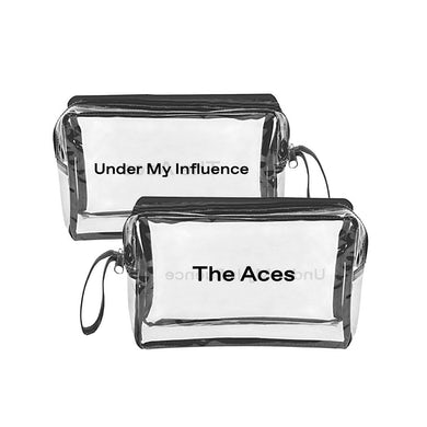 The Aces Under My Influence Makeup Bag