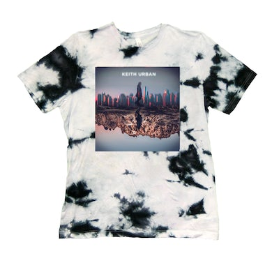 Keith Urban Skyline Tie Dye T-Shirt