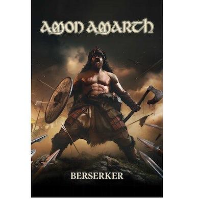 Amon Amarth Berserker Textile Flag