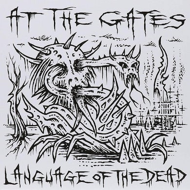 At The Gates Language Of The Dead 7' Vinyl