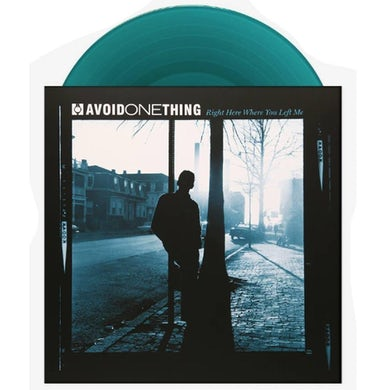 """AVOID ONE THING Right Where You Left Me 12"""" Vinyl"""