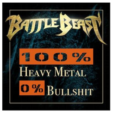 BATTLE BEAST Heavy Metal Sticker