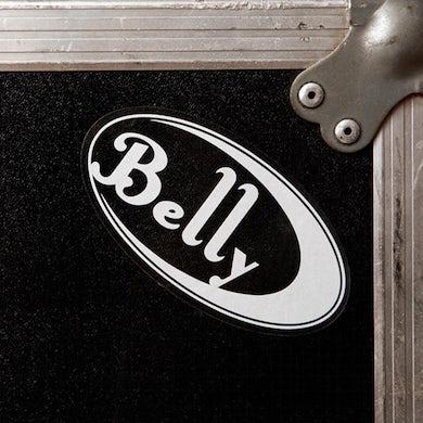 BELLY Logo Clear Sticker