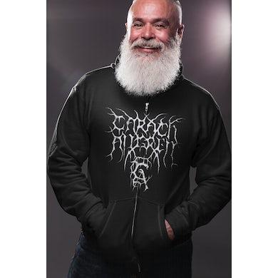 Carach Angren Logo Worship Horror Black Zip Hoodie