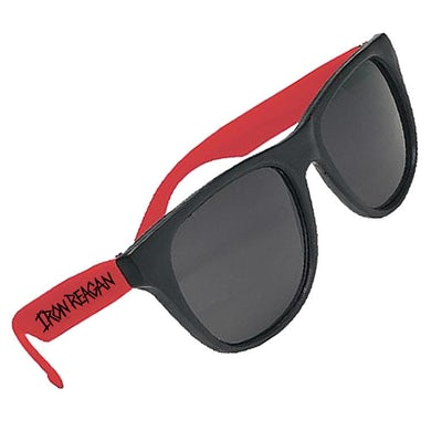 Iron Reagan Black And Red Sunglasses