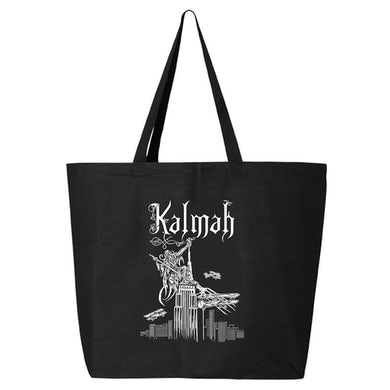 KALMAH Swamp To Victory Tour Black Tote