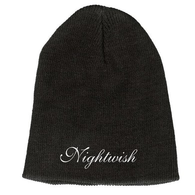 "NIGHTWISH Emblem Logo Black 9"" Beanie"