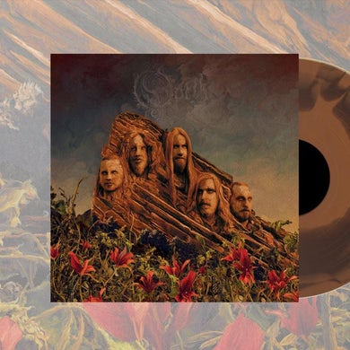 "OPETH Garden Of The Titans Gold 12"" LP (Vinyl)"