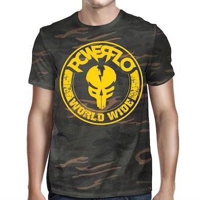Powerflo Worldwide-mfp  Camo T-Shirt
